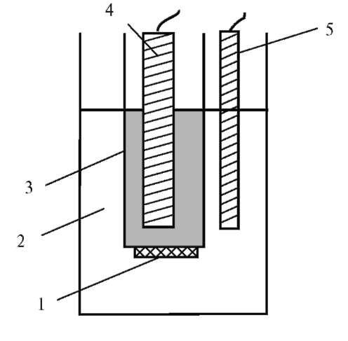 Ионоселективный электрод: 1