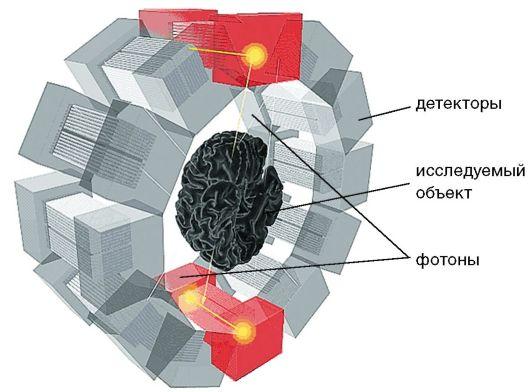 Схема устройства ПЭТ
