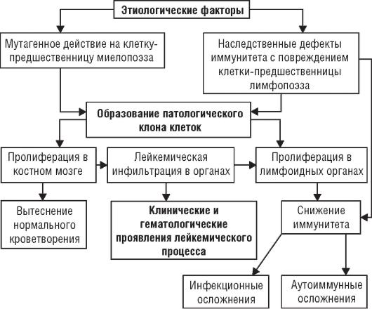 Патогенез лейкоза