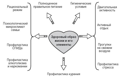Факторы здоровья схема