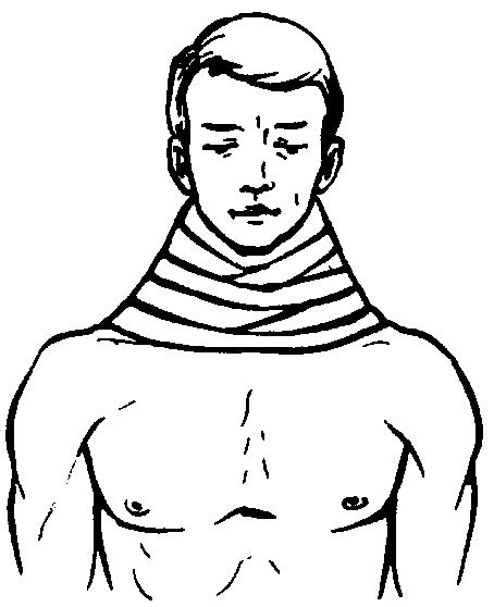 Ватно-марлевый воротник